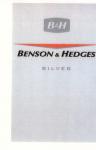 Adressänderung Marken Nr. 15408 B&H BENSON & HEDGES SILVER