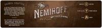 Neueintragung Marken Nr. 18654 NEMIROFF De Luxe RESTED IN BARREL