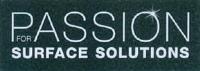 Neueintragung Marken Nr. 18953 PASSION FOR SURFACE SOLUTIONS